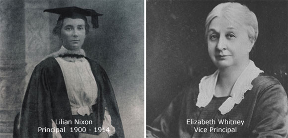 Lilian Nixon - who founded the CMS Ladies' College in a bungalow in Union Place, Slave Island, in 1900