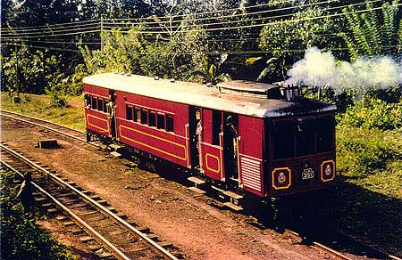 Sentinal Steam Rail Car No. 331, V2 Class - narrow gauge (KV line). The only working model left in the world